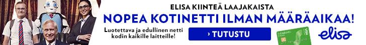 Elisa laajakaista - Netti kotiin